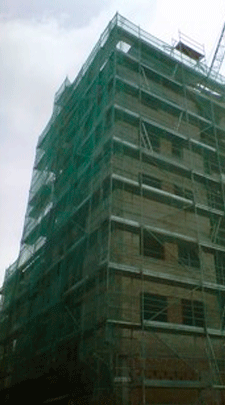 European scaffolding